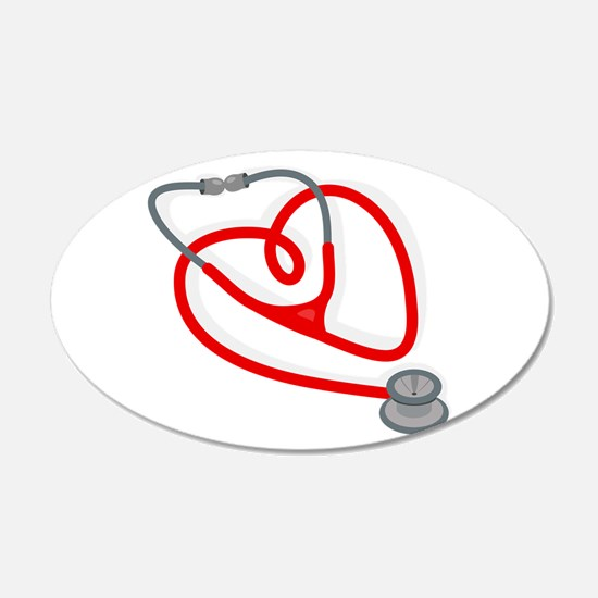 Stethoscope Heart Wall Decal