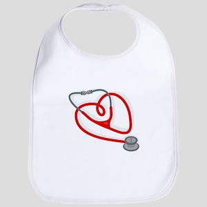 Stethoscope Heart Bib