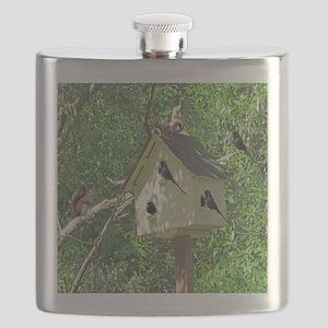 Cute Birdhouse Flask