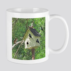 Cute Birdhouse Mugs