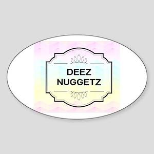 Deez Nuggetz Logo Sticker