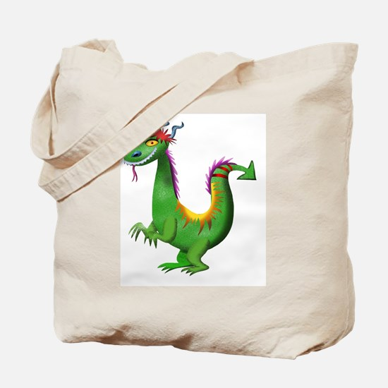 Funny Dragon kids Tote Bag