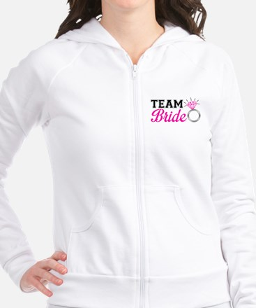 Cute Bridal party Fitted Hoodie