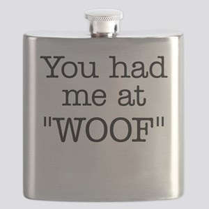 """You Had Me At """"WOOF"""" Flask"""