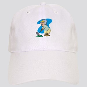 granny golfer Baseball Cap