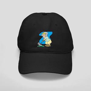 granny golfer Baseball Hat