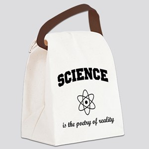 Science poetry of reality Canvas Lunch Bag