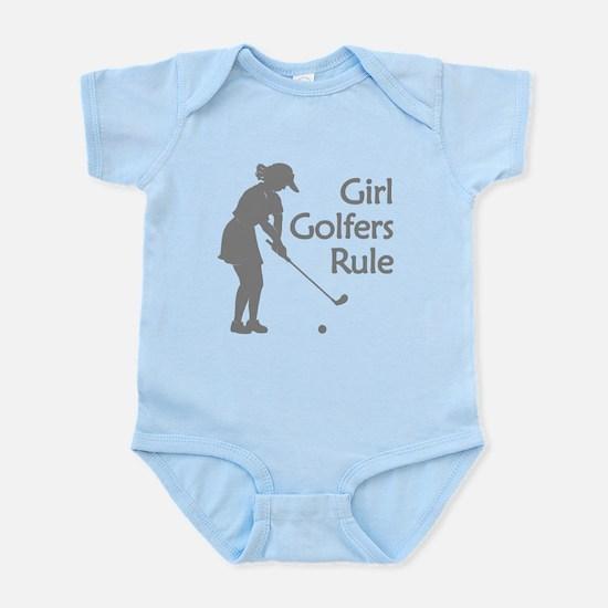 grey girl golfers rule Body Suit