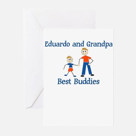 Eduardo & Grandpa - Best Budd Greeting Cards (Pack