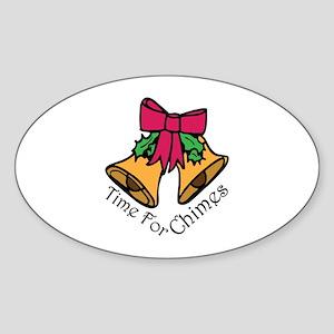 Christmas Chimes Sticker