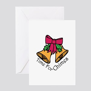 Christmas Chimes Greeting Cards