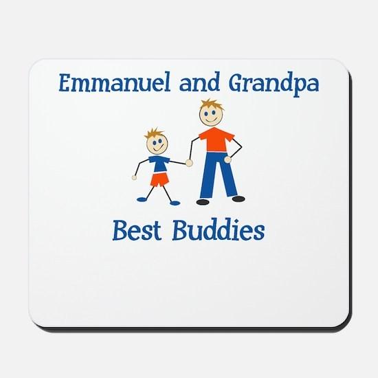 Emmanuel & Grandpa - Best Bud Mousepad