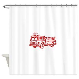 Fire Truck Bed Bath