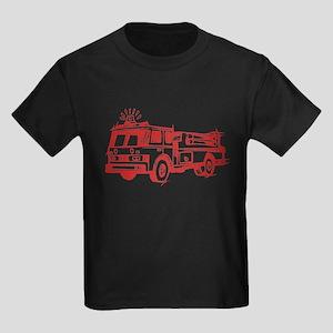 Red Fire Truck T-Shirt
