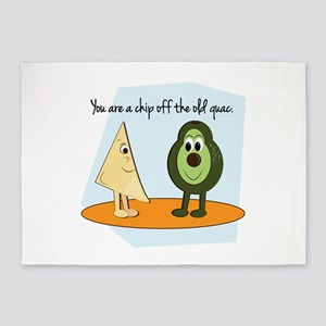 You Are A Chip Off The Old Guac. 5'x7'Area Rug