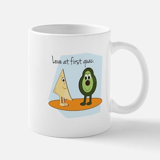 Love At First Guac. Mugs