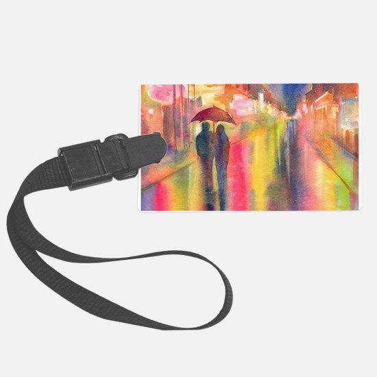 Funny Walk Luggage Tag