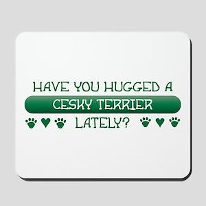 Hugged Cesky Mousepad