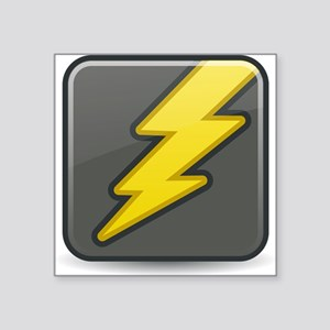 Lightning Icon Sticker