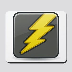 Lightning Icon Mousepad