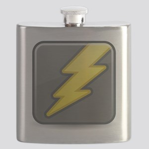 Lightning Icon Flask