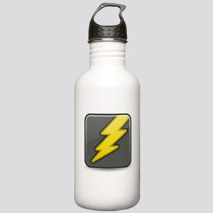 Lightning Icon Water Bottle