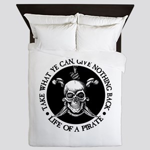 (Pirate) Take What Ye Can Queen Duvet
