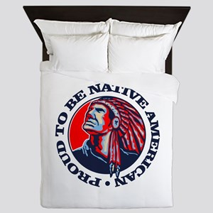 Proud Native American Queen Duvet
