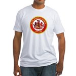 USS FAIRFAX COUNTY Fitted T-Shirt