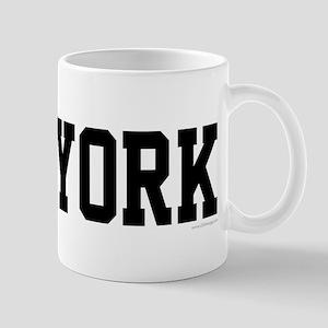New York Jersy Black Mug