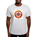 USS FAIRFAX COUNTY Ash Grey T-Shirt