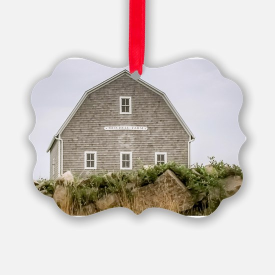 Block Island Barn Ornament