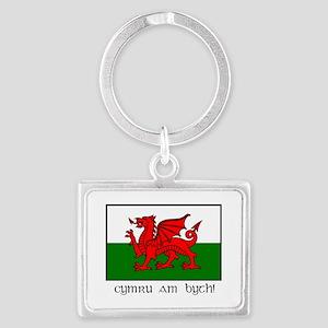 Welsh Dragon Keychain Keychains