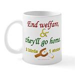 Illegals Solution Mug