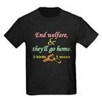 Illegals Solution Kids Dark T-Shirt
