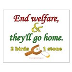Illegals Solution Small Poster