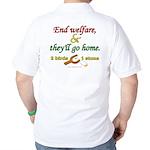 Illegals Solution Golf Shirt