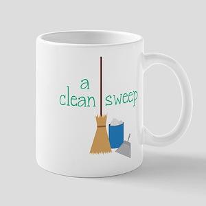 Broom Pan Mugs