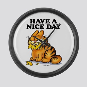 Have a Nice Day Large Wall Clock