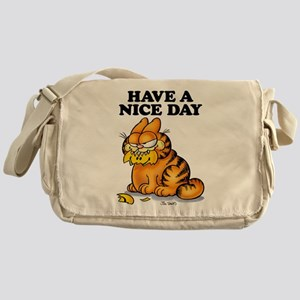 Have a Nice Day Messenger Bag