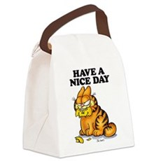 Have a Nice Day Canvas Lunch Bag