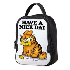 Have a Nice Day Neoprene Lunch Bag