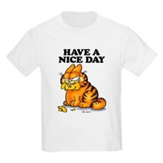 Have a Nice Day Kids Light T-Shirt