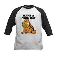 Have a Nice Day Kids Baseball Jersey