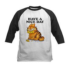 Have a Nice Day Kids Baseball Jersey