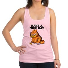 Have a Nice Day Racerback Tank Top