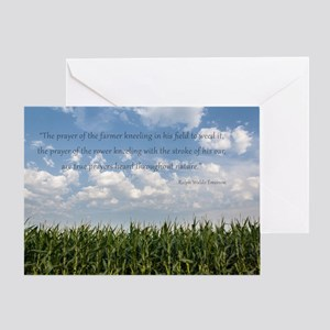 Prayer of the Farmer Greeting Cards