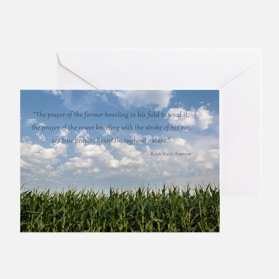 Prayer of the Farmer Greeting Cards