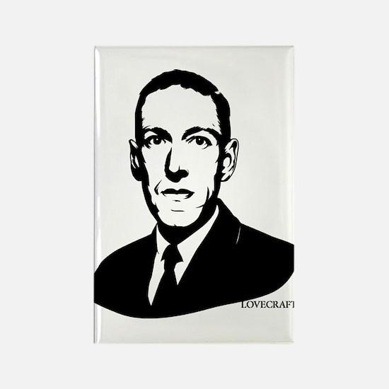 Strk3 H.P. Lovecraft Rectangle Magnet