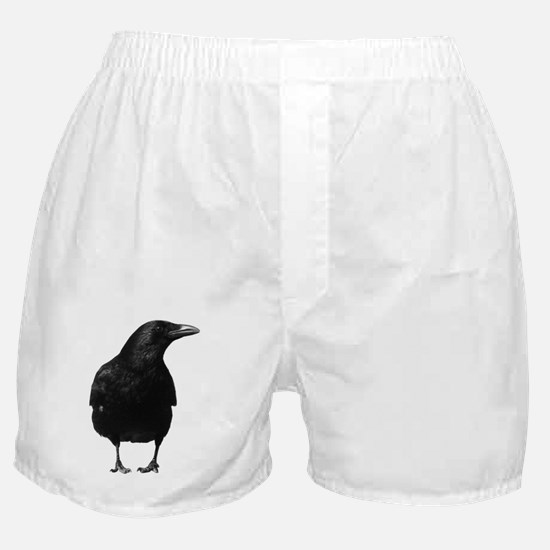 Watching Crow Boxer Shorts